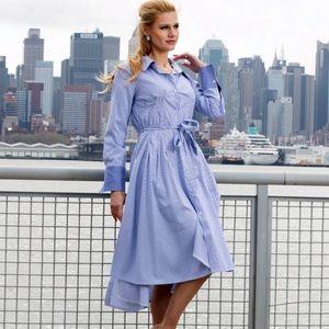 Button Down Blouse Dress